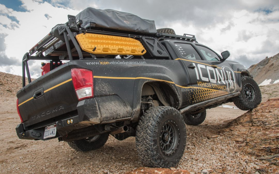 Toyota Tacoma ICON RXT Rear Suspension System