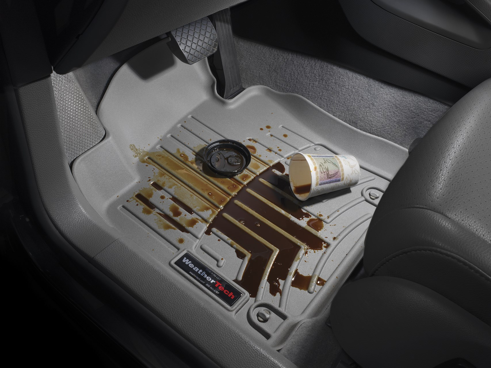 WeatherTech Floor Liners Coffee Spill